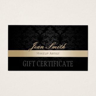 Certificaat van de Gift van het Damast van de