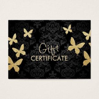 Certificaat van de Gift van het Damast van de Visitekaartjes