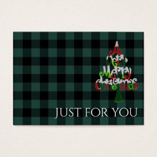 Certificaat van de Gift van Kerstmis van de Plaid