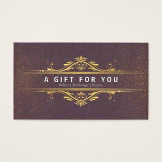 Certificaten van de Gift van de Salon van het