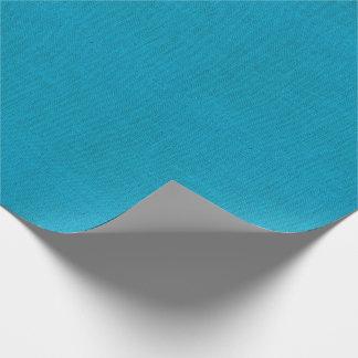 Cerulean Blauwe Textuur van de Jute Inpakpapier
