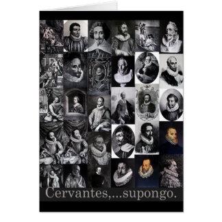 Cervantes,… supongo kaart
