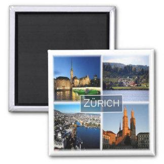 CH * Zwitserland - Zürich Magneet