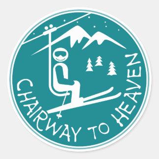 Chairway aan de Sticker van de Hemel