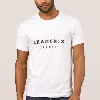 Chamonix Frankrijk T Shirt