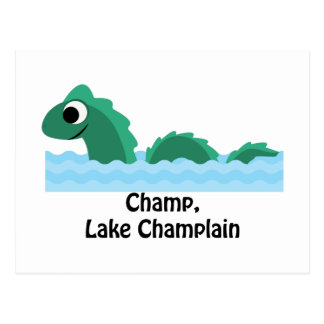 Champ, Meer Champlain Briefkaart