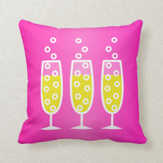 Champagne - roze sierkussen