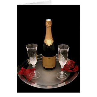 Champagne voor Twee Briefkaarten 0