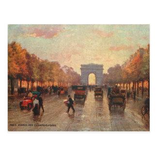 Champs Elysee Briefkaart