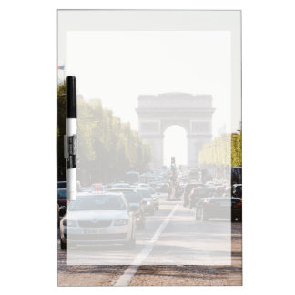 Champs Elysees en de Boog DE Triomphe Whiteboards