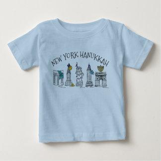 Chanoeka van de Vakantie van de Chanoeka NYC van Baby T Shirts