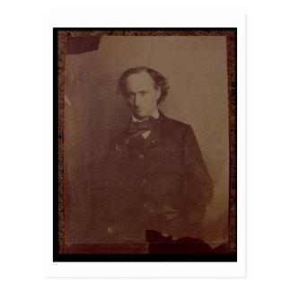 Charles Baudelaire (1820-1867), Franse dichter, Briefkaart