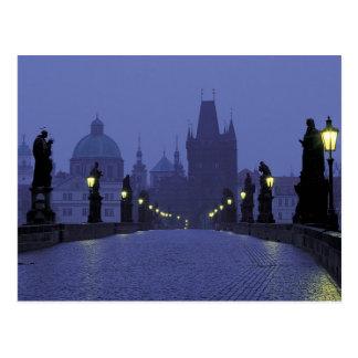 Charles Bridge - Praag Briefkaart