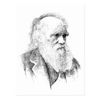 Charles Darwin, de Oorsprong van Species 1872 Briefkaart
