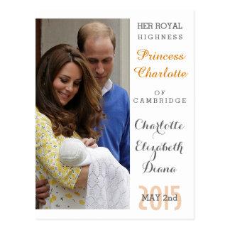 Charlotte Elizabeth Diana - Britten zullen Kate Briefkaart