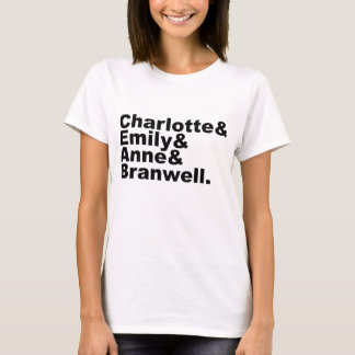 Charlotte Emily Anne Branwell | Siblings Bronte T Shirt