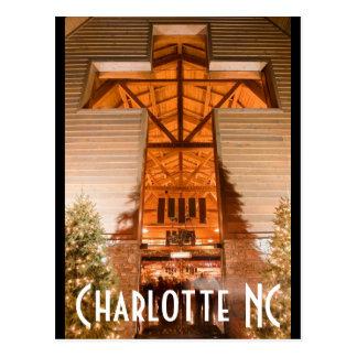 Charlotte NC Briefkaart