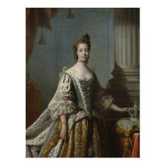 Charlotte Sophia van mecklenburg-Strelitz, 1762 Briefkaart