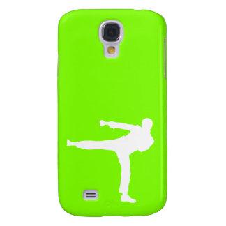 Chartreuse, de Groene Vechtsporten van het Neon Galaxy S4 Hoesje