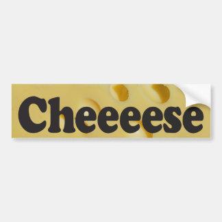 Cheeeese - de Sticker van de Bumper