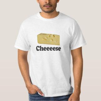 Cheeeese - de T-shirt van de Waarde