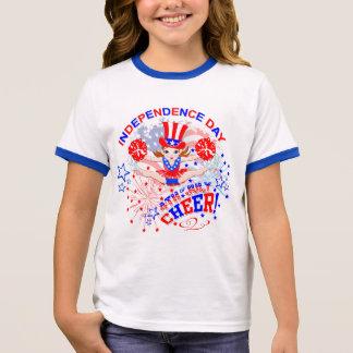 Cheerleader, de Dag van de Onafhankelijkheid, 4 T Shirts