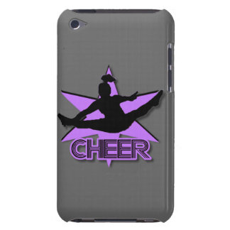 Cheerleader in paars iPod touch hoesje