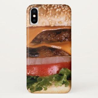 Cheeseburger iPhone X Hoesje