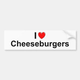 Cheeseburgers Bumpersticker