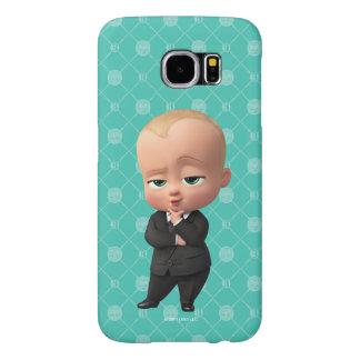 Chef- Baby | ben ik de Werkgever! Samsung Galaxy S6 Hoesje