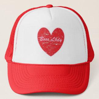 Chef- Dame Heart Hat Trucker Pet