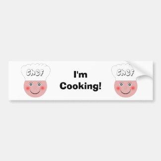 Chef-kok Bumpersticker