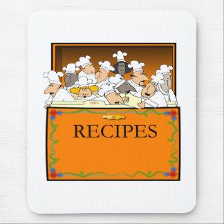 Chef-kok Mousepad Muismatten