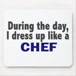 Chef-kok tijdens de Dag Muismat