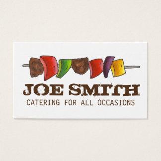 Chef-kok van de Catering van de Picknick van de Visitekaartjes
