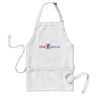 Chef-kok, Vlag van Puerto Rico Standaard Schort
