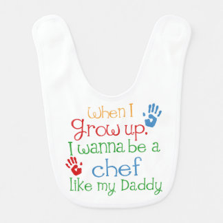 Chef-kok zoals Mijn Slab van het Baby van de Papa Slabbetje