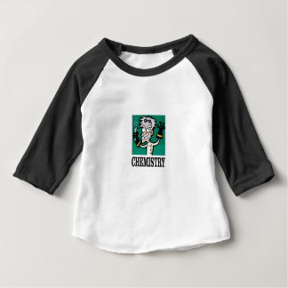 chemie man in laag baby t shirts