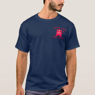 Chemo Ninja is hij een Ventilator! T Shirt