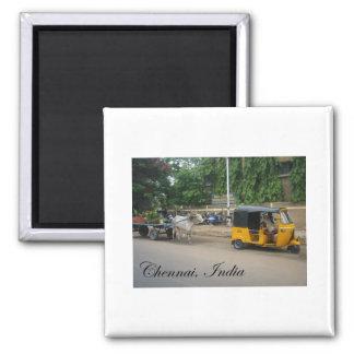Chennai, India Koelkast Magneetje
