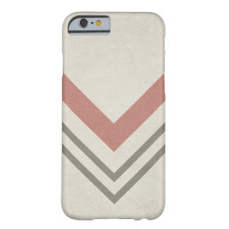 Chevron op een Neutrale Achtergrond Barely There iPhone 6 Hoesje