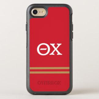 Chi | van de theta de Streep van de Sport OtterBox Symmetry iPhone 7 Hoesje