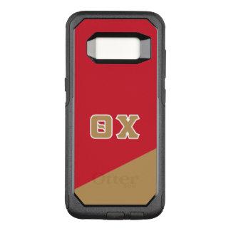 Chi | van de theta Griekse Brieven OtterBox Commuter Samsung Galaxy S8 Hoesje