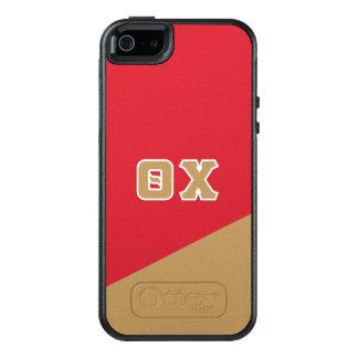 Chi | van de theta Griekse Brieven OtterBox iPhone 5/5s/SE Hoesje