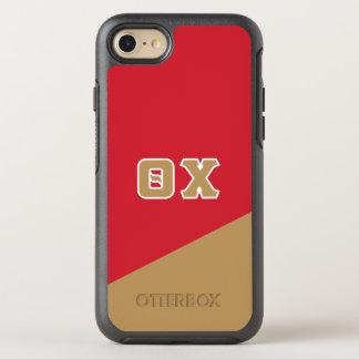 Chi | van de theta Griekse Brieven OtterBox Symmetry iPhone 7 Hoesje