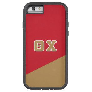 Chi | van de theta Griekse Brieven Tough Xtreme iPhone 6 Hoesje