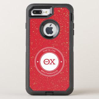 Chi | van de theta Kenteken OtterBox Defender iPhone 8 Plus / 7 Plus Hoesje