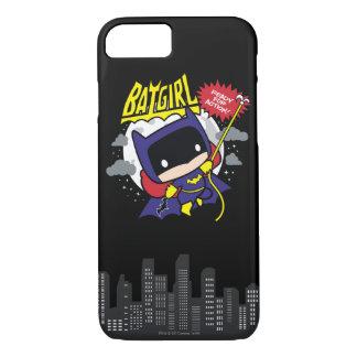 Chibi Batgirl Klaar voor Actie iPhone 8/7 Hoesje