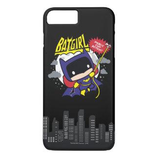 Chibi Batgirl Klaar voor Actie iPhone 8/7 Plus Hoesje