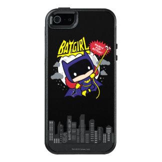 Chibi Batgirl Klaar voor Actie OtterBox iPhone 5/5s/SE Hoesje